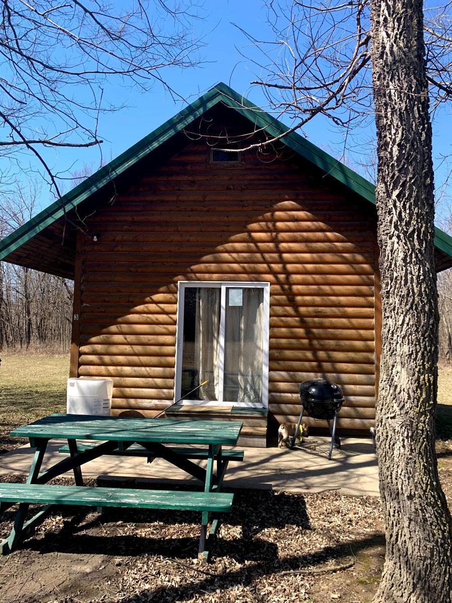 Cabin #3 - Chimney Rock RV Park & Campground