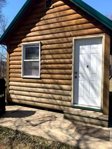 Cabin #4 - Chimney Rock RV Park & Campground